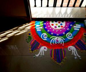 Rangoli: Happy birthday Sowmya