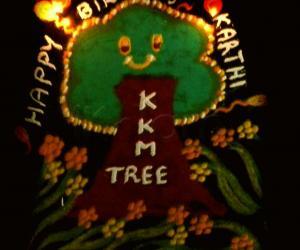 Rangoli: happy bday karthi