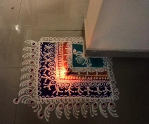 Rangoli: corner sb