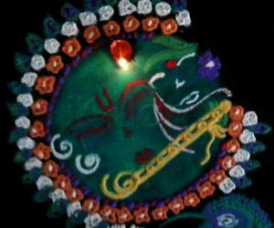 Rangoli: Happy janmashtami