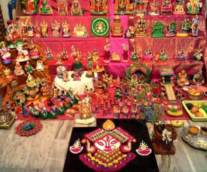 Rangoli: navaratri day 5