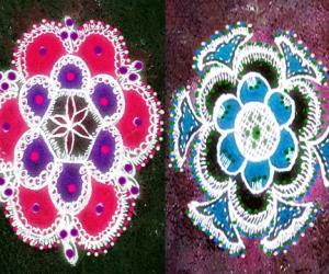 Rangoli: dew showers 6