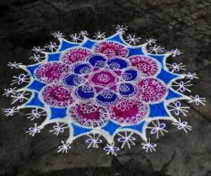Rangoli: marghali 8