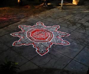 Rangoli: divine friday