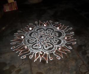 Rangoli: panguni uthiram