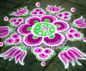 Rangoli: pink clearance