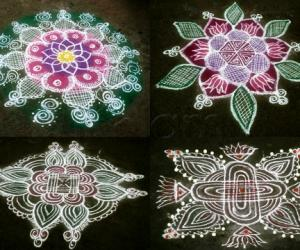 Rangoli: dew showers 5