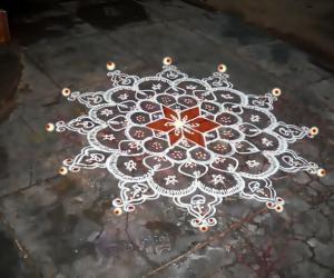 Rangoli: marghali 20
