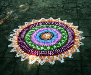 300th kolam