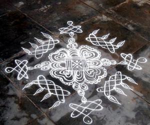 Rangoli: sikku kolam