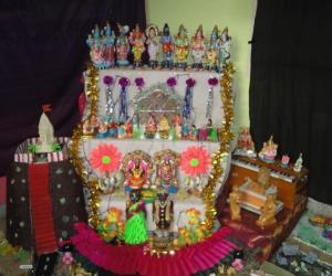 Golu arrangement in our home.