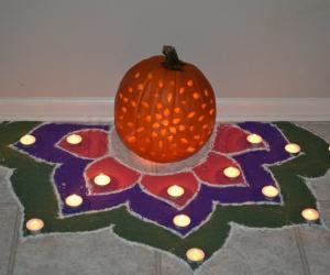 Halloween Kolam