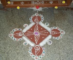 Rangoli: Vijaydashami-2012