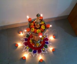 Rangoli: Diwali 2013