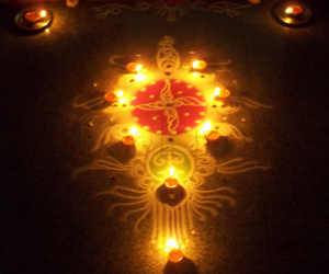 Rangoli: Naraka Chaturdashi Night 2012
