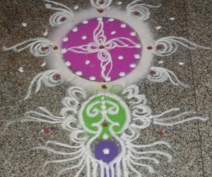 Rangoli: Naraka Chaturdashi 2012