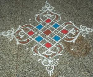 Rangoli: Sankranthi 2012