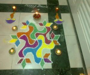 Deepavali - Stars of the colors - 2nd entry