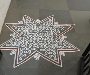 One of my Navarathri kolams