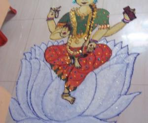 Rangoli: Navarathri Rangoli -2012