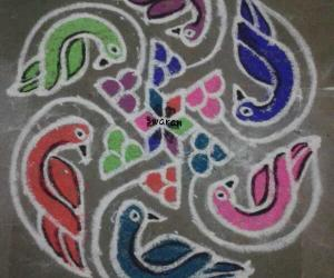Margazhi 2014-2015: Day23:: Dottedkolam