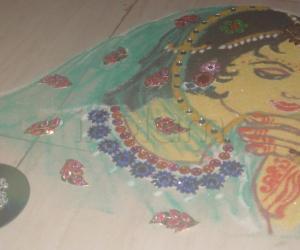 Rangoli: First Anniversary rangoli