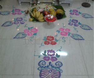 Rangoli: varalakshmi vritham 2012