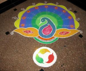 Rangoli: Diwali Rangoli cotest