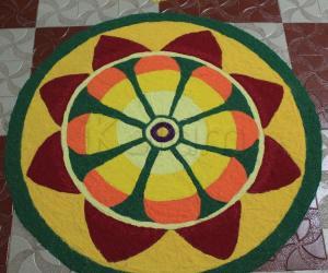 Rangoli: happy onam 2015