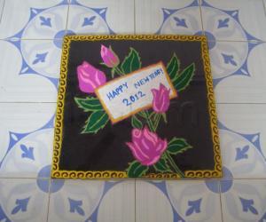 Rangoli: HAPPY NEW YEAR 2012!