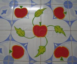 apple rangoli