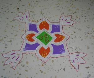 Rangoli: happy ganesh chathurthi!