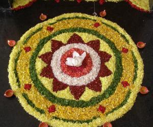 Rangoli: Happy Onam!!!
