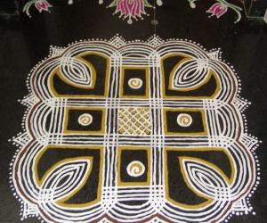 Rangoli: tamil new year 2013!