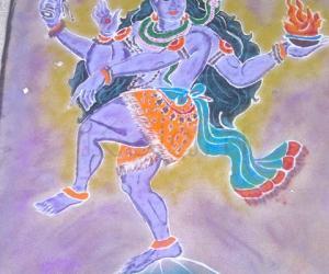 Rangoli: Diwali Rangoli 2013, MAHASHIV RATRI SPL.