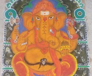 Rangoli: Diwali Rangoli 2014