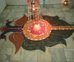 Rangoli: Shiv Shringar