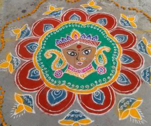 Rangoli for Diwali rangoli contest