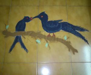 Cuckoo day rangoli :-)