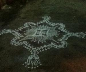 First posting of my kolams