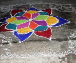 Rangoli: margazhi kolams