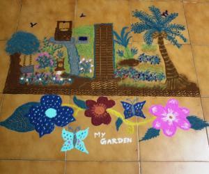 Rangoli: My garden