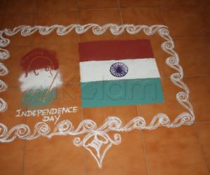 Rangoli: Happy Indepence Day