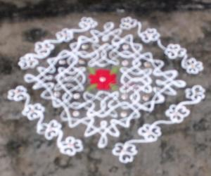 Rangoli: Margazhi day 2