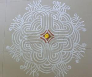 Tamil Puththandu Padi kolam
