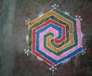Rangoli: sunday rangoli