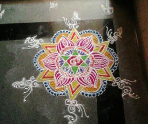 Rangoli: Inspirational rangoli