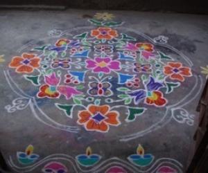 Rangoli: Sankranti Kolam