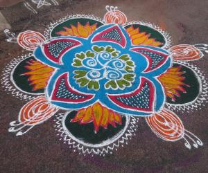 Poo Kolam another entry