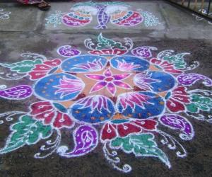 Pongal Kolam,